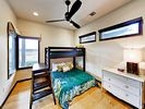 2nd Bedroom - Comfort awaits in a welcoming 2nd bedroom, furnished with a twin-over-full bunk bed.