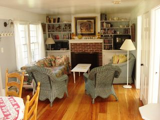 Yarmouth townhome photo - Living/dining room