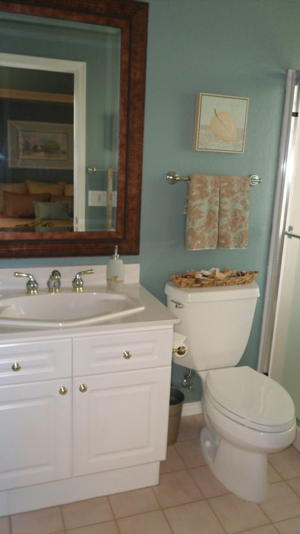 Casita bath has large walk in shower. No tub.