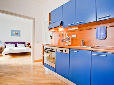 Mala Strana - Hradcany apartment rental - Fully equipped kitchen in Magdalena