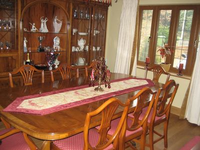 Rother house rental - dining room