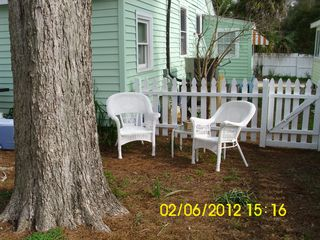 South side of house. - Tybee Island cottage vacation rental photo