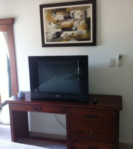 Master Bedroom Chest of Drawers & TV