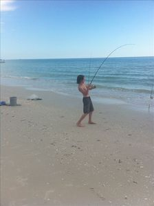 Shore Fishing Right out front