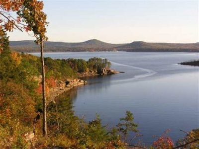 Greers Ferry Lake house rental - View from the Deck