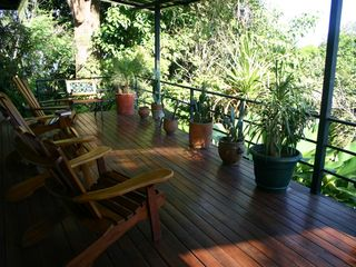 Manuel Antonio house photo - Mountain View Side Deck