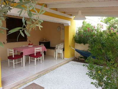 Villasimius apartment in residence with pool and tennis court