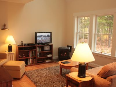 Southwest Harbor cottage rental - Living Area