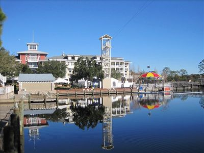 Enjoy the Baytowne Wharf just down the road