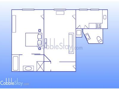 Floorplan of property 024 CobbleStay