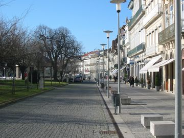 Street scene in Viana do Castelo