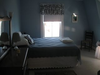 Gloucester - Annisquam house photo - The Crane's Beach Bedroom, Queen Bed with waterviews