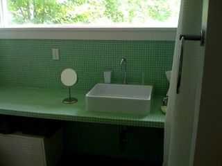 Coxsackie farmhouse photo - downstairs bathroom with shower