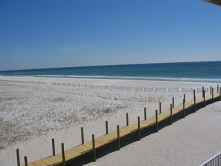 Pensacola Beach condo photo - View from the Master bedroom balcony.