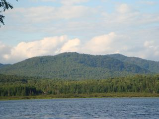 Lunenburg cabin photo - View of mountains facing north from dock.