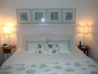 Wrightsville Beach cottage photo - King Bed 1