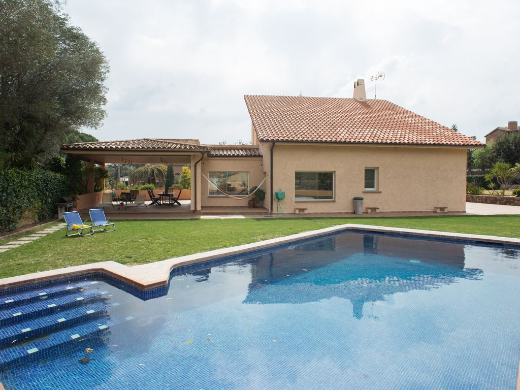 Beautiful Luxury House 6 Bedrooms With Swimming Pool Barcelona 6 Br Vacation Villa For Rent In