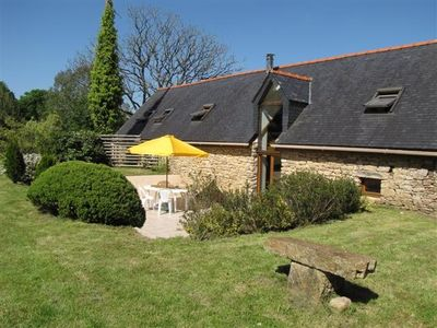 Pluguffan farmhouse rental - La Longère
