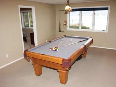 Enjoy shooting a game of pool on the Pool Table !