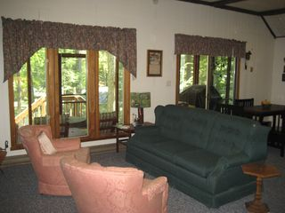 Lake Wallenpaupack house photo - Another view of Living room