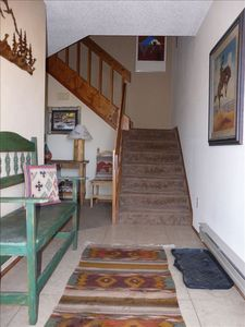 Pagosa Springs condo rental - Front entry of Condo