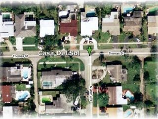 Hollywood house photo - Casa Del Sol Overhead View - No Side Neighbors