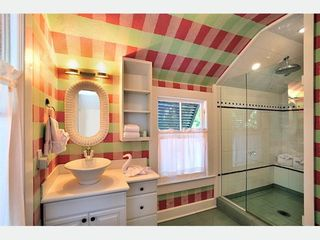 Key West house photo - The Nantucket Bathroom 1: ensuite with over sized custom glass shower