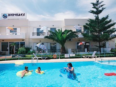 Almirida hotel rental - Niriides pool