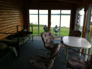 Cross Lake cabin photo - Screened Patio