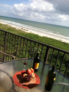 Fruit and wine? Your Own Direct Ocean 6th fl Paradise! This is the life for you!
