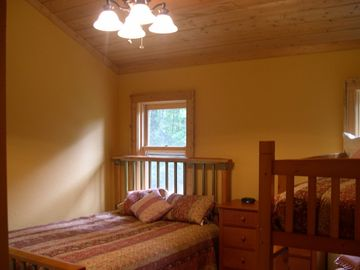 2nd Floor Guest Bedroom - Queen and Bunk Beds