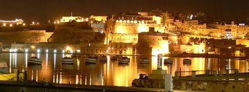 Valletta waterfront with award winning restaurants
