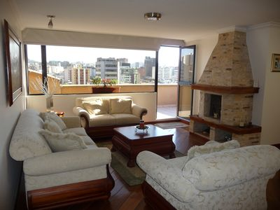 Living Room Terrace View