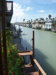 Port Isabel cottage photo - View of Waterway