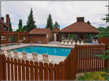 Year round heated pool and hot tub for 20 in the club house next door.