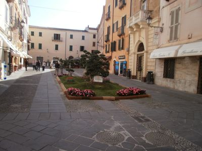 Piazza Civica in Winter