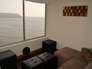 Miraflores condo photo - Stunning Sea Lounge perfect for Coffee or Cocktails
