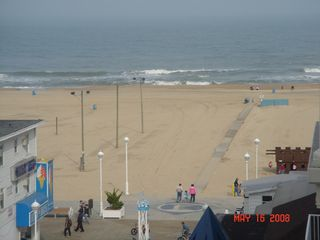 Belmont Towers Ocean City condo photo - Beach View