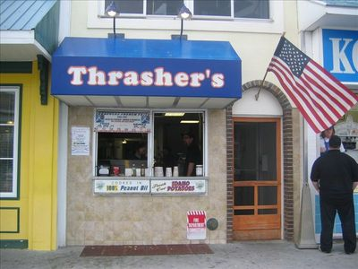 A vacation is not a vacation without Thrasher's Fries