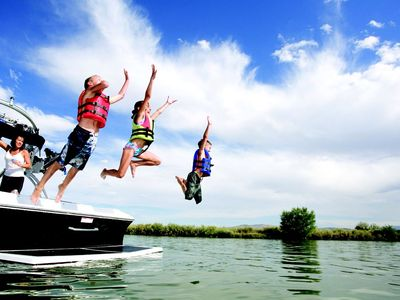 Enjoy lovely Greers Ferry Lake with the whole family