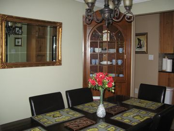 Dinning Room, built-in china cabinets, built in the 60's.