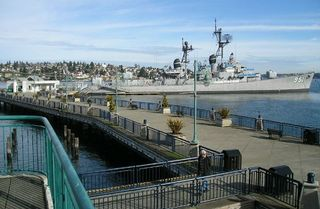Bremerton apartment photo - USS Turner Joy Museum on the Bremerton Board Walk