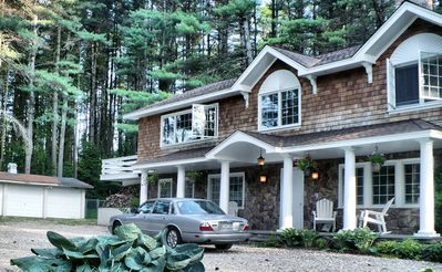 Stockbridge house rental - Sun drenched with hundreds of pine trees