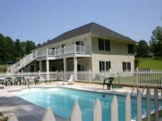 Lg lakefront home w private pool book homeaway littleton Lake gaston rentals with swimming pool