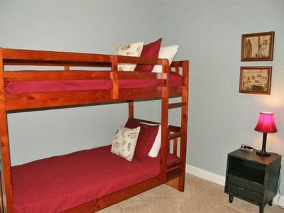 Children's bunkroom. Attached to Master Suite.