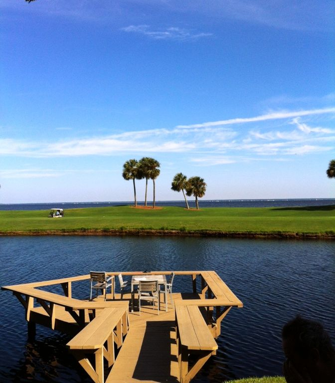 Awesome View of Bay- 2 Bdrm + Loft W 2 Addl Beds + Golf Cart +