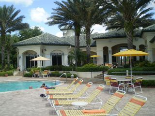 VIew of Main Entrance to Legacy Dunes - Kissimmee condo vacation rental photo
