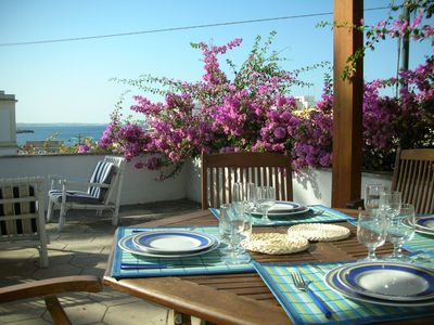 Sea view, in the heart of Santa Caterina