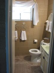 Kalkaska cottage photo - Small Bathroom with shower stall- no bathtub