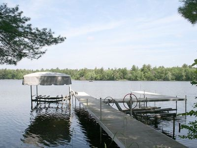 Shared Pier for Castle Lake access.